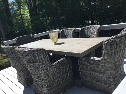 Barnstable, Osterville Cape Cod vacation rental - Dine out on the patio