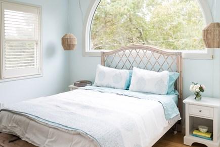 Truro Cape Cod vacation rental - Queen guest bedroom with en-suite bathroom (shower)