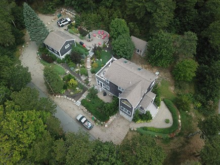 Truro Cape Cod vacation rental - Main house, cottage, & fire pit (+shed which isnt part of rental)