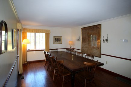 Truro Cape Cod vacation rental - Dining Room has plenty of room for all guests