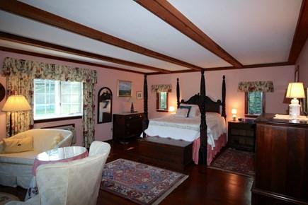 Truro Cape Cod vacation rental - Master bedroom suite has a King bed