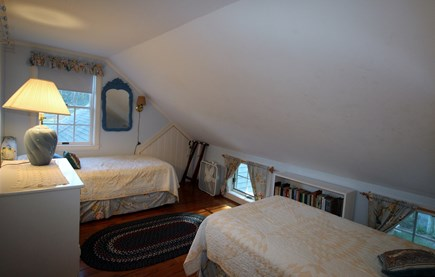 Truro Cape Cod vacation rental - Bedroom #3 has two Twin beds