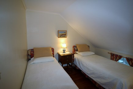 Truro Cape Cod vacation rental - Bedroom #2 has two Twin beds