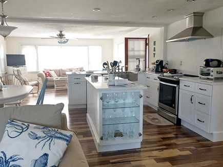 East Falmouth Cape Cod vacation rental - Kitchen/Dining/family room