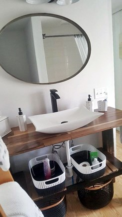 East Falmouth Cape Cod vacation rental - Master bath