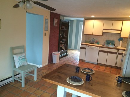 Hyannis Cape Cod vacation rental - Plenty of space in this Kitchen! Stocked with all basic supplies!