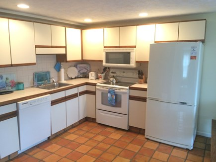 Hyannis Cape Cod vacation rental - Kitchen includes: EnergyStar Fridge & New Microwave!