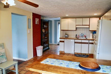 Hyannis Cape Cod vacation rental - Large eat-in kitchen with plenty of spots for the whole gang!