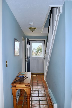 Hyannis Cape Cod vacation rental - Downstairs hallway, showing off the great lighting throughout