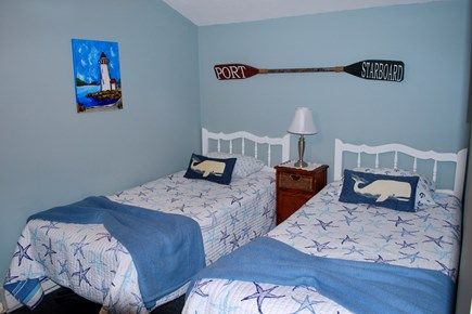 Hyannis Cape Cod vacation rental - 2nd Bedroom - perfect for the kids who don't have to share a bed!