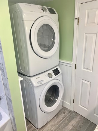 Hyannis Cape Cod vacation rental - Washer and Dryer in the Full Bath upstairs next to the bedrooms!