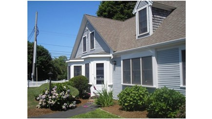Hyannis Cape Cod vacation rental - One of the entries to your beach vacation home!