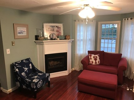 Hyannis Cape Cod vacation rental - Living Room - Comfortable seating with plenty of room!