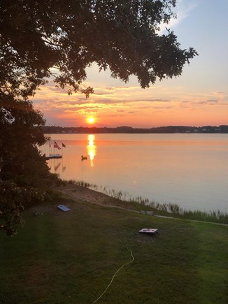 Bourne, Buzzards Bay Cape Cod vacation rental - Sunset, no need to say more.