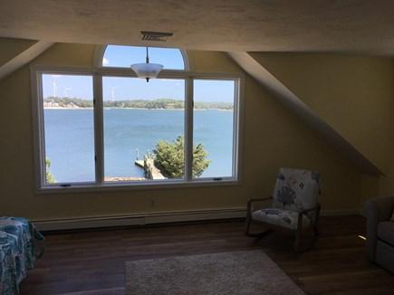 Bourne, Buzzards Bay Cape Cod vacation rental - Master Bedroom #1, that overlooks bay.
