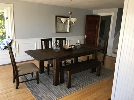 Bourne, Buzzards Bay Cape Cod vacation rental - Dining room with seating for 8-10