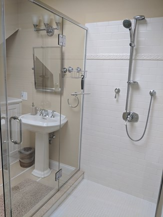 Falmouth Heights Cape Cod vacation rental - Best indoor shower.
