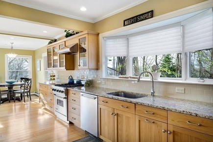 Falmouth Heights Cape Cod vacation rental - Gourmet chef kitchen with Viking appliances.