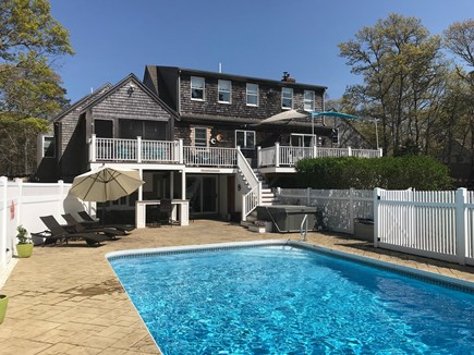 Brewster Cape Cod vacation rental - Pool & Hot Tub Area