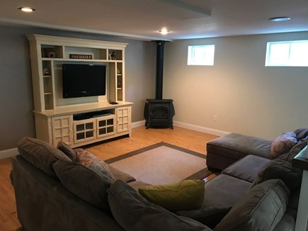 Brewster Cape Cod vacation rental - One of the two Lower Level Living Areas