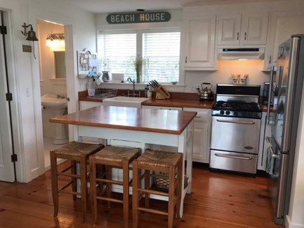 New Seabury, Mashpee New Seabury vacation rental - Kitchen w/new stainless appliances. All amenities provided.