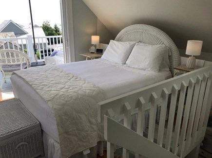 New Seabury, Mashpee New Seabury vacation rental - Loft queen bed and private balcony overlooking Nantucket Sound