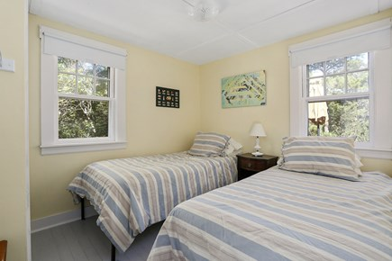 Truro Cape Cod vacation rental - 2 Twin beds, or combine into King, or collapse to 1 Twin, closet