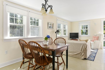 Truro Cape Cod vacation rental - Open concept living and dining space