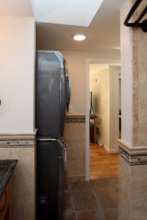 Chatham Cape Cod vacation rental - Washer and dryer located in 1st floor bathroom