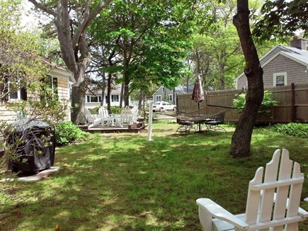 South Yarmouth Cape Cod vacation rental - Enjoy the porch, grilling and the relaxing hammock