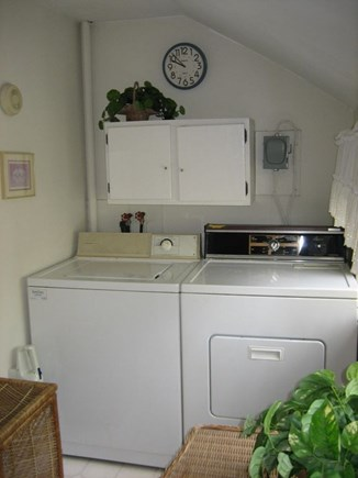 South Yarmouth Cape Cod vacation rental - Laundry area