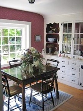 South Yarmouth Cape Cod vacation rental - Dining table seats 6