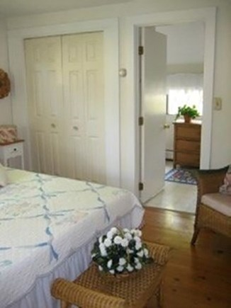 South Yarmouth Cape Cod vacation rental - Master bedroom with Queen bed and attached bathroom