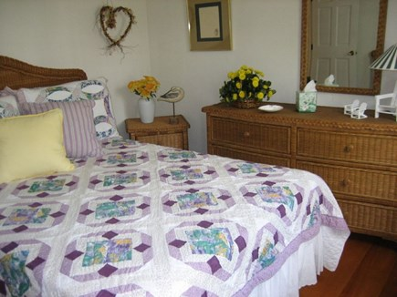 South Yarmouth Cape Cod vacation rental - Full bed with TV and phone