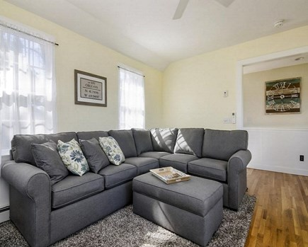 Orleans Cape Cod vacation rental - Family Room with seating for 5+ people, large-screen TV, sofabed