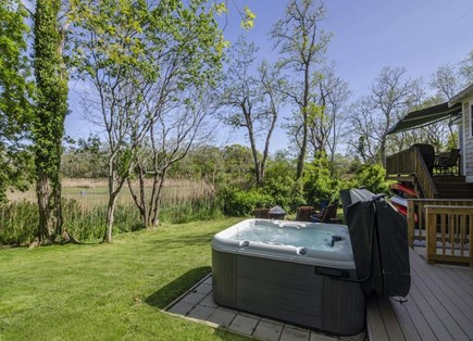 Orleans Cape Cod vacation rental - Large outdoor hot tub for chilly evenings