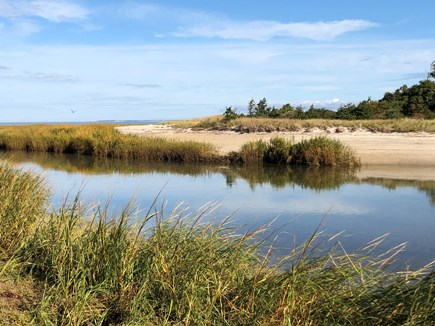 Orleans Cape Cod vacation rental - Skaket Creek, accessible from marsh behind house