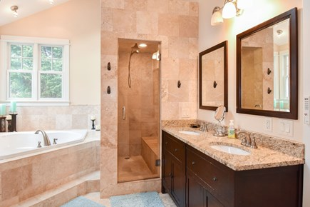 Eastham Cape Cod vacation rental - Master bathroom