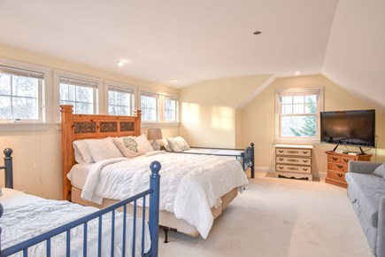 Eastham Cape Cod vacation rental - Bunk Room with several beds