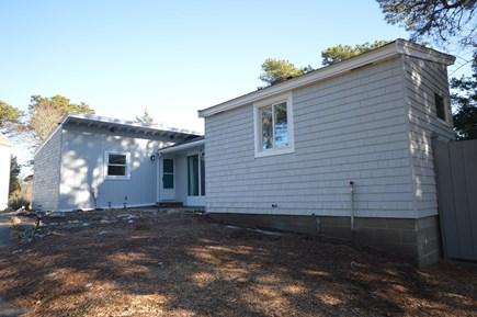 Eastham Cape Cod vacation rental - Freshly painted main house, landscape updates in progress