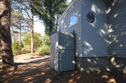 Eastham Cape Cod vacation rental - Fully enclosed outdoor shower
