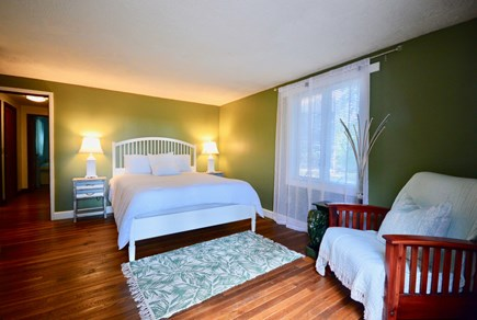 Eastham Cape Cod vacation rental - Main house queen bedroom will have window AC unit for summer