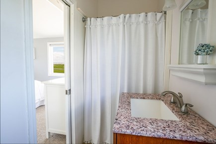 Yarmouthport/ barnstable Cape Cod vacation rental - Bathroom off above bedroom