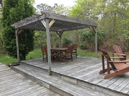 Harwich Port Cape Cod vacation rental - Spacious, outdoor multi-tiered deck. Great for family gatherings.