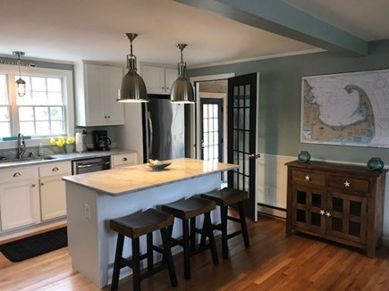 Harwich Port Cape Cod vacation rental - Open floor plan, hardwood floors throughout house