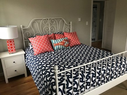 Harwich Port Cape Cod vacation rental - Main floor Bedroom 1 - Queen bed.