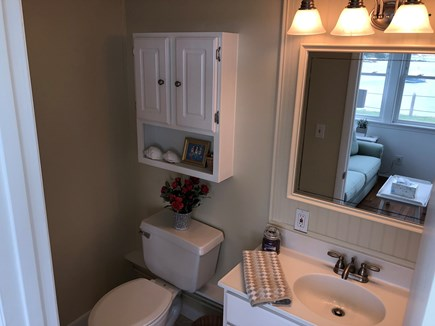West Yarmouth Cape Cod vacation rental - Downstairs Bathroom