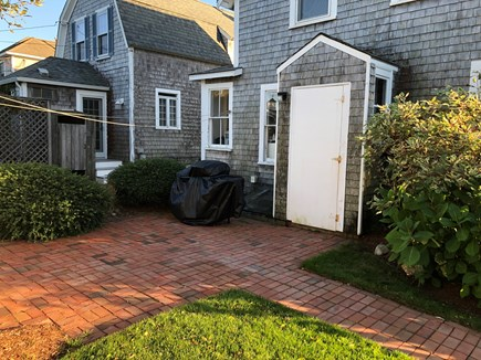 West Yarmouth Cape Cod vacation rental - Back Patio