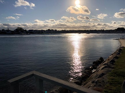 West Yarmouth Cape Cod vacation rental - Sunset over Lewis Bay