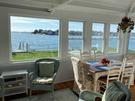 West Yarmouth Cape Cod vacation rental - Porch over looking Lewis Bay